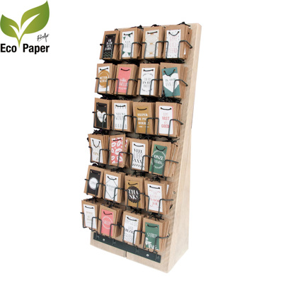 24 vaks houten display Canvas 24x6